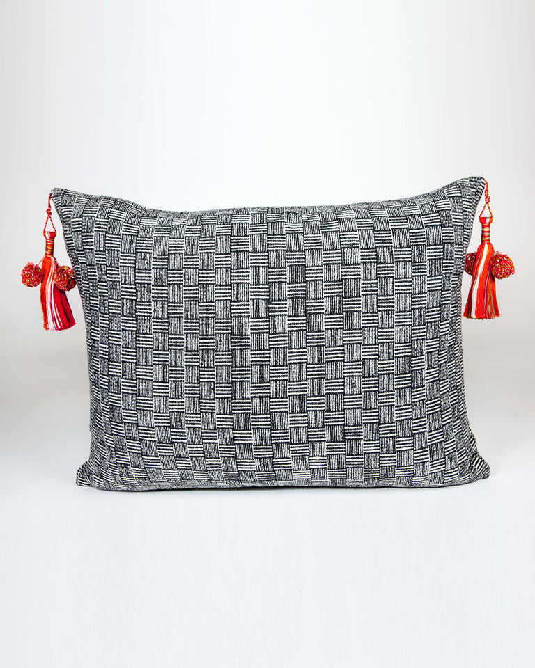 Chamula Wool Basketweave Pillow