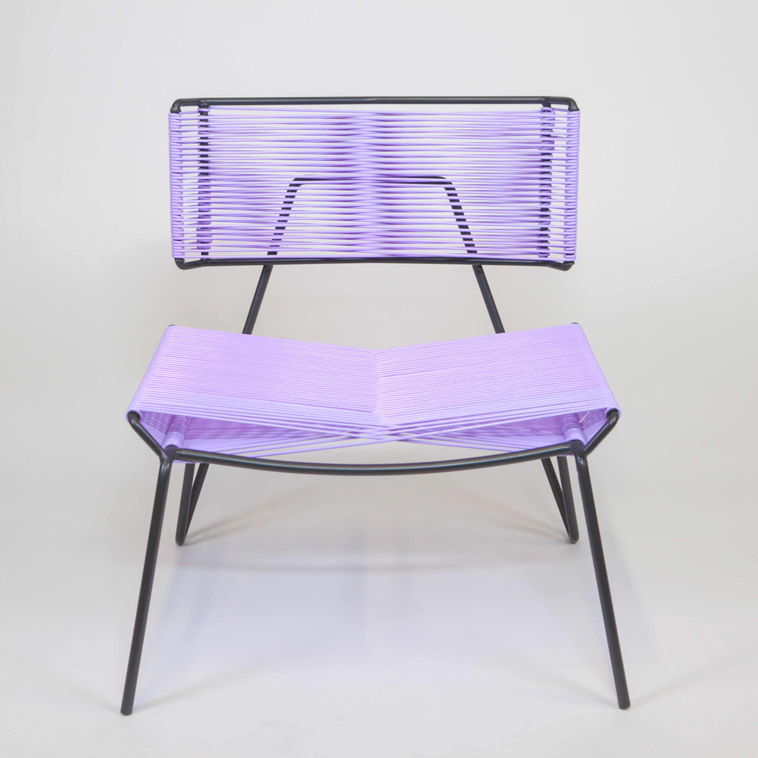 Outdoor PVC chair Lavender