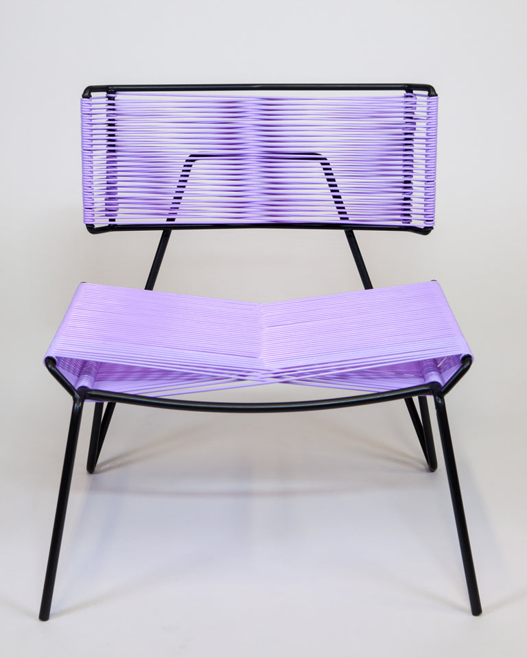 Atacama Outdoor Chair — Lavender