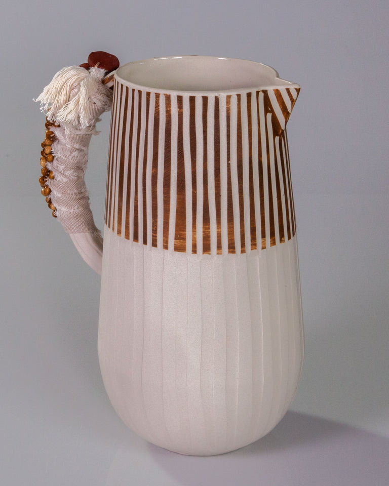 Terracota Tall Jug
