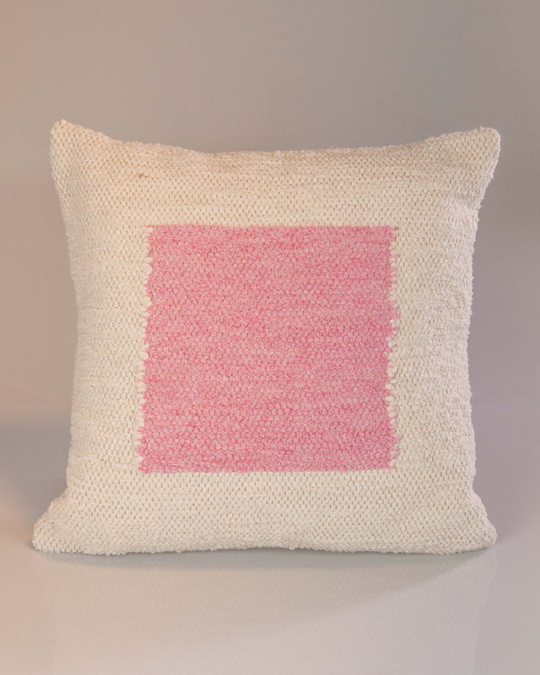 Casa Cubista Square Pillow- Pink
