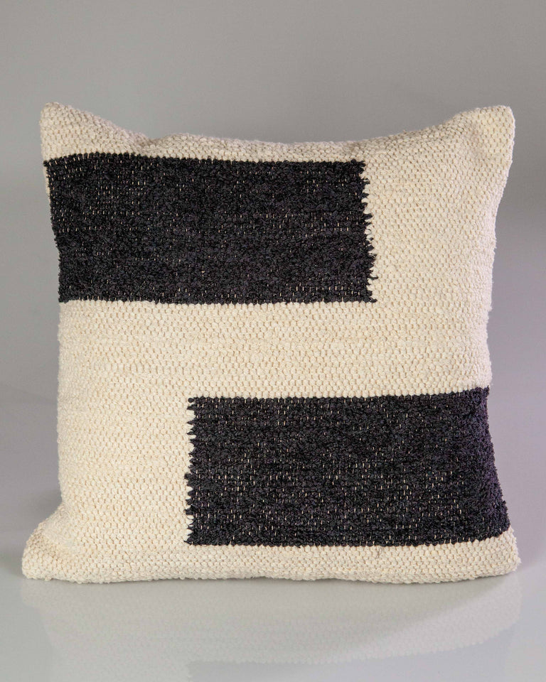 Casa Cubista Maze Pillow - Charcoal