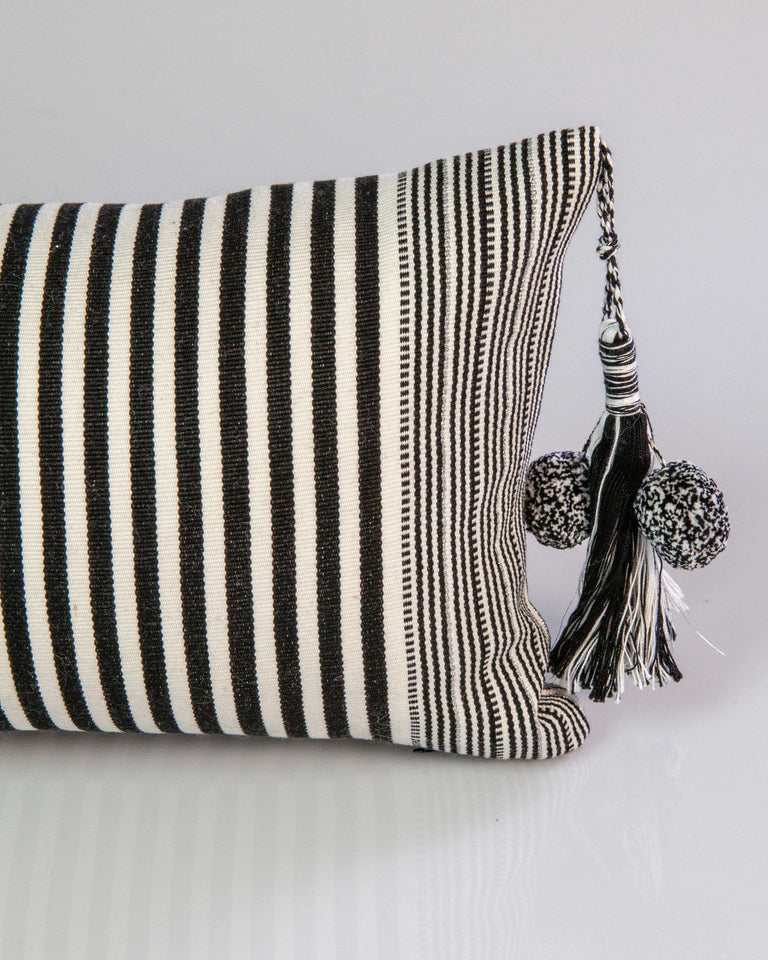 SanCri B&W and Silver Pillow