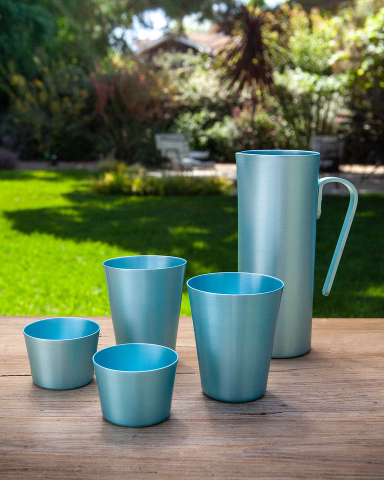 100% Re-cycled Aluminum Pitcher Azul