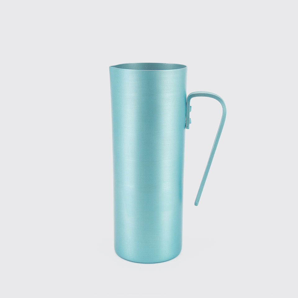 100% Re-cycled Anodized Aluminum Pitcher - Azul