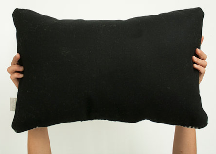 Nima Black/Gray Pillow