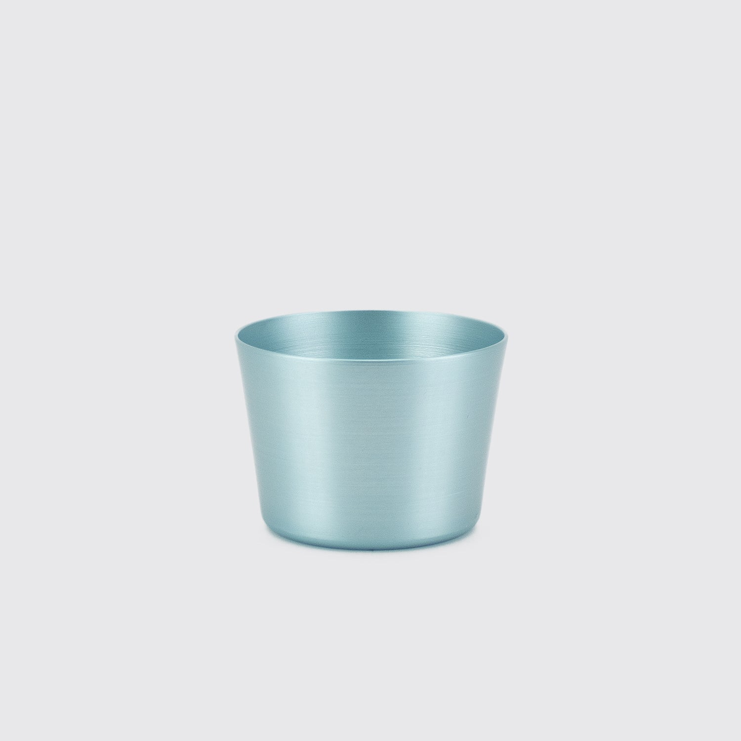 100% Re-cycled Anodized Aluminum Tumbler - Light Blue