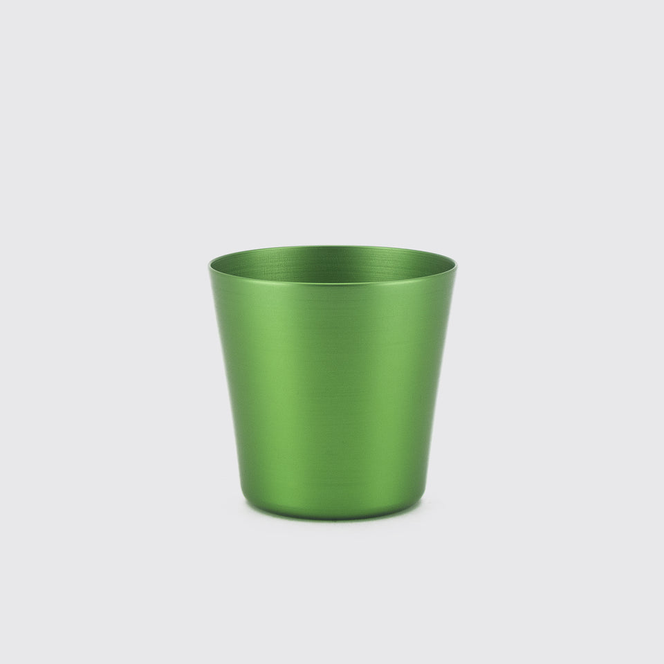 100% Re-cycled Anodized Aluminum Tumbler - Green, set of 2