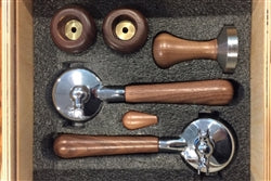 Izzo Alex Duetto IV Wood Handel Barista Set
