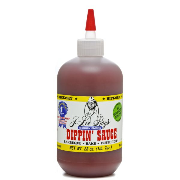 Hickory Smoked Dippin' Sauce - 23oz Single Bottle