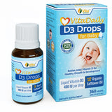 VitaDaily D3 Drops for Baby - 400 IU  - 360 Drops