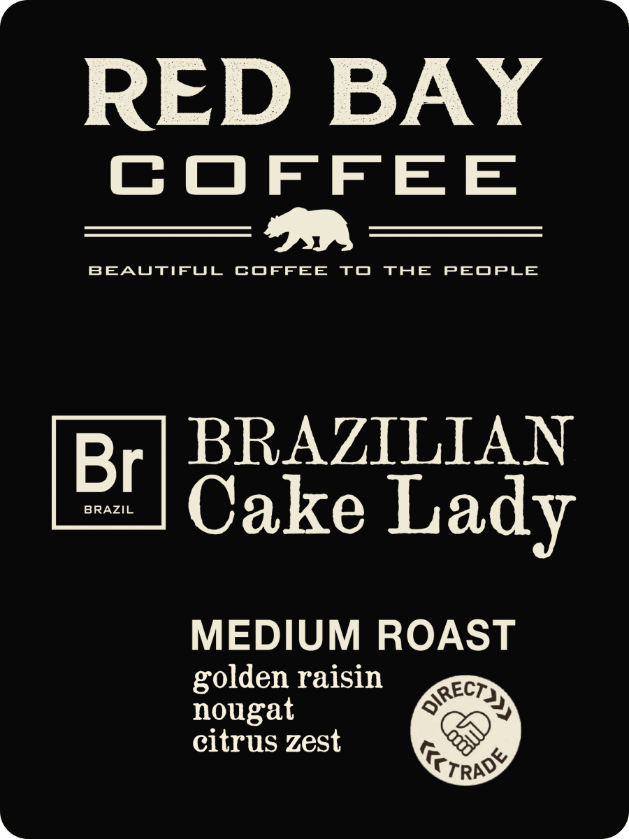 4 Oz Whole Bean Combo Pack #4: East Fourteenth, Slow Burn, Brazilian Cake Lady - Red Bay Coffee