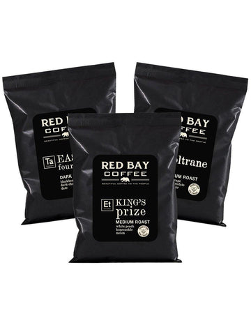 6 oz Ground Combo Pack #2 red-bay-coffee Coffee.