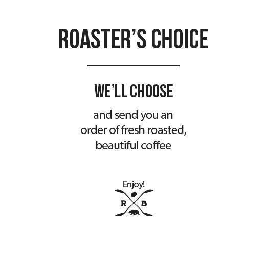 Investor Perk–6 Month Roaster's Choice Coffee Subscription