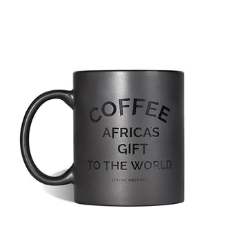 Coffee Mug - Africa's Gift (Black) red-bay-coffee Merchandise.