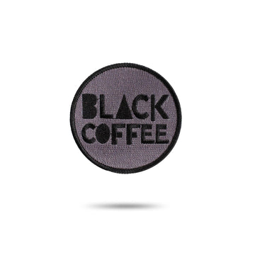 Embroidered Patch - Black Coffee red-bay-coffee Merchandise.