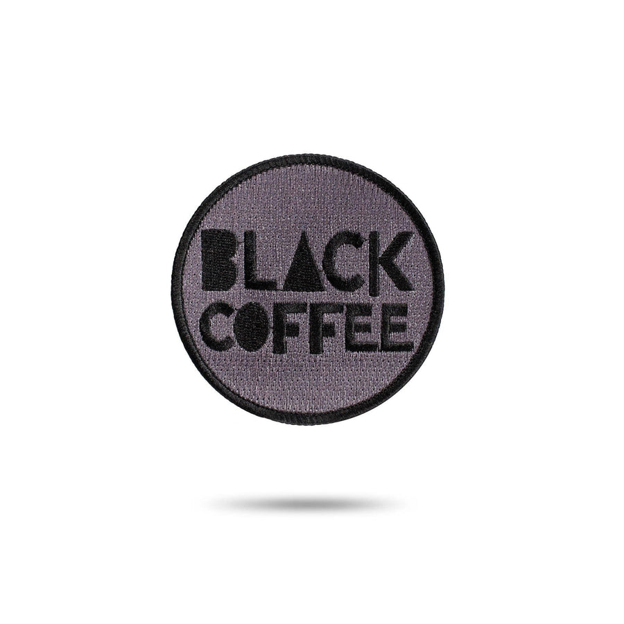 Embroidered Patch - Black Coffee red-bay-coffee Merchandise
