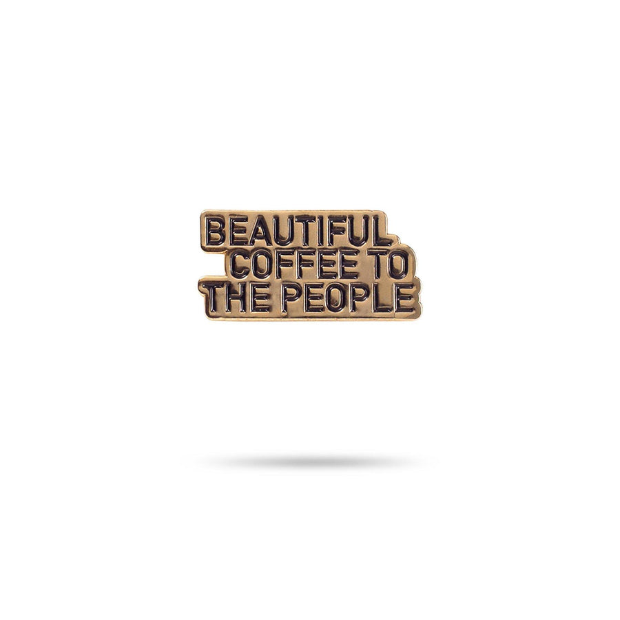 Enamel Pin - Beautiful Coffee red-bay-coffee Merchandise
