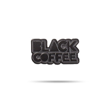 Enamel Pin - Black Coffee red-bay-coffee Merchandise.