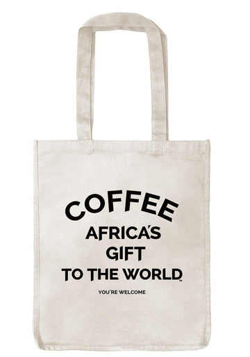 Tote Bag - Africa's Gift - Oatmeal - Red Bay Coffee
