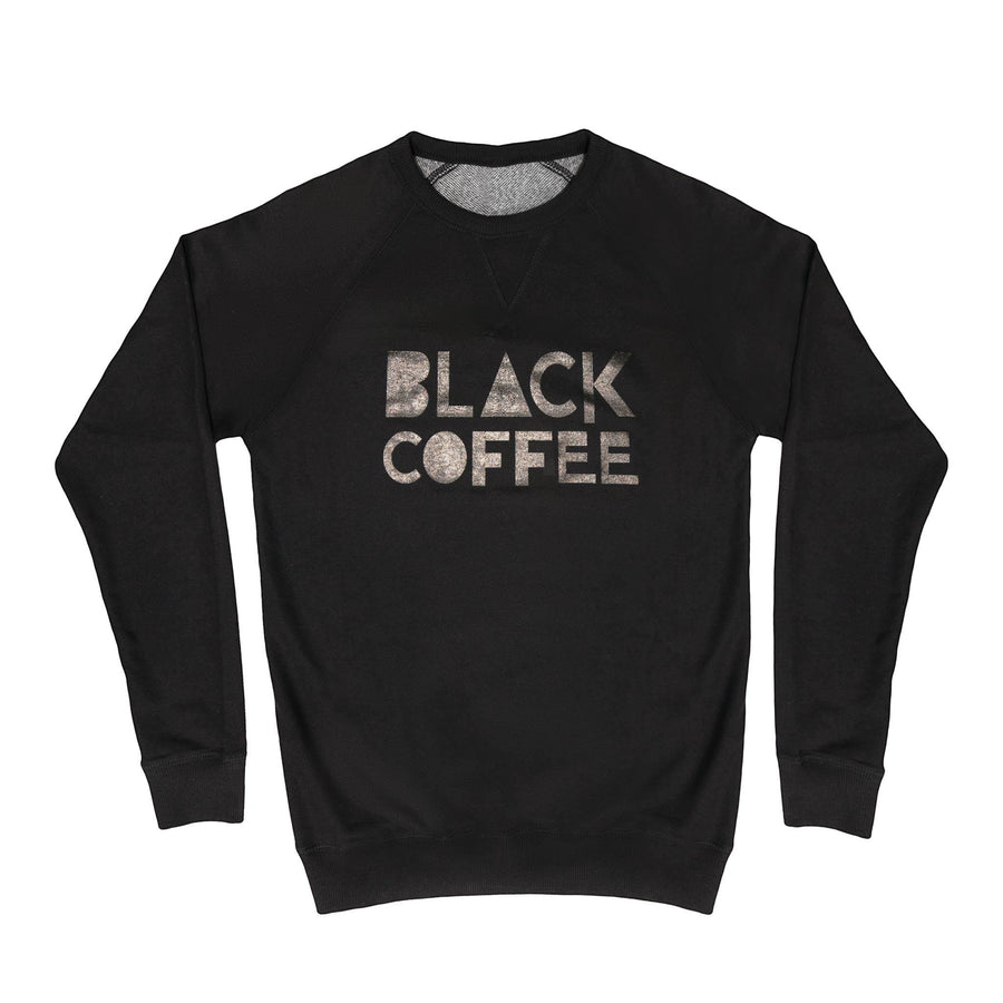 Unisex Sweatshirt - Black Coffee - Black red-bay-coffee Merchandise.