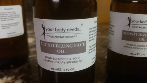 Custom-blended plant oils 2oz