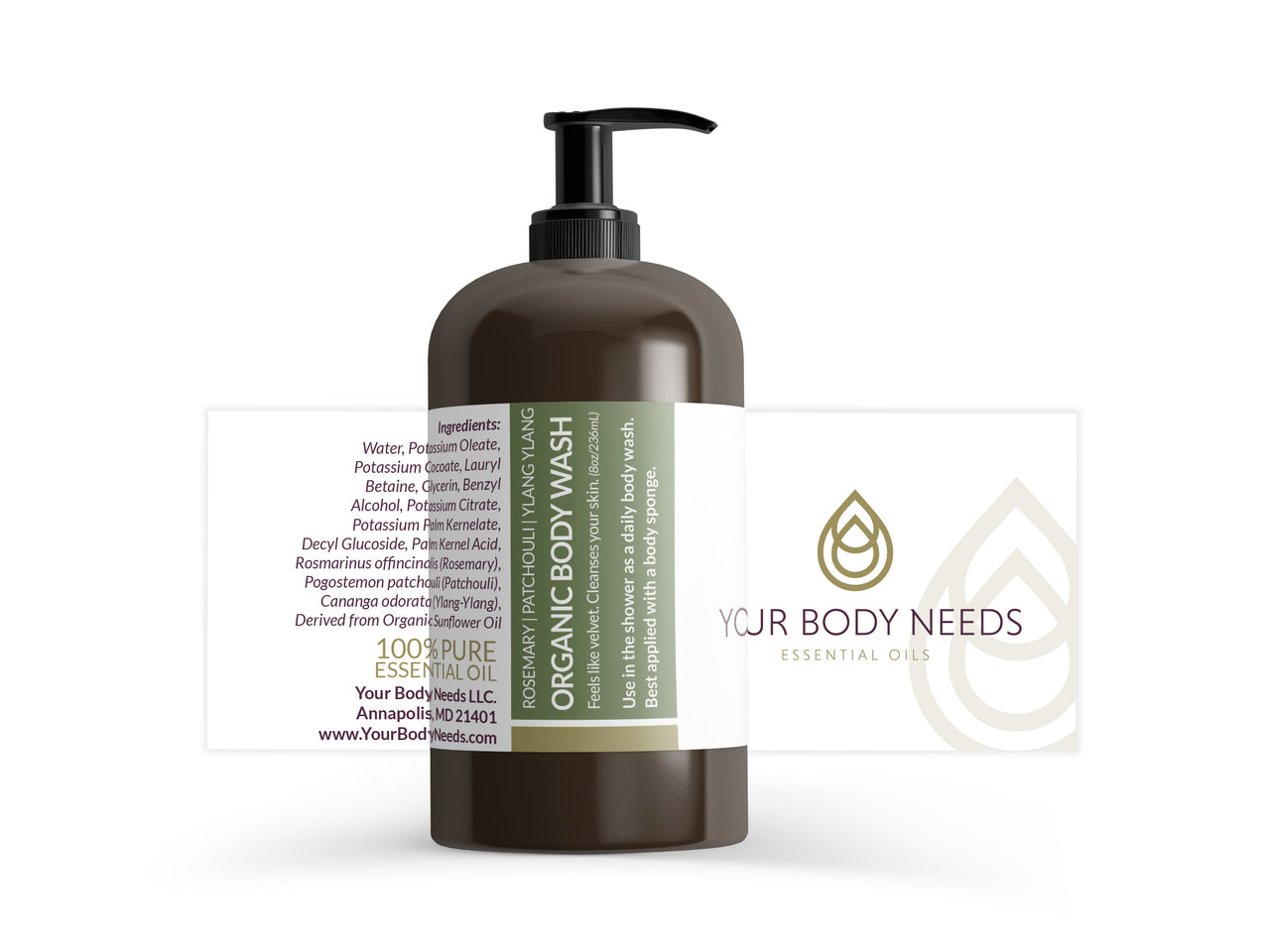 Get Moving - Organic Body Wash