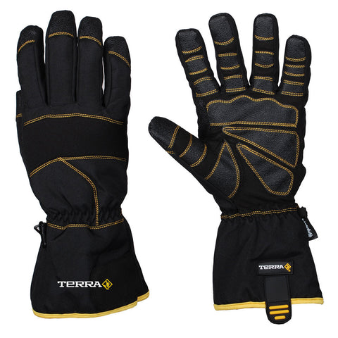 Terra Synthetic Leather winter,Hiver Mechanics Glove