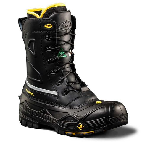 Terra Crossbow Men's Waterproof Winter Safety Boot with Composite Toe