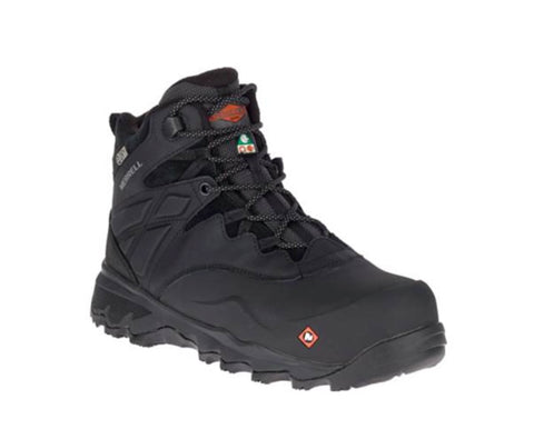 Botte de sécurité Thermo Adventure Merrell Ice+ de 15cm pour homme, à embout composite