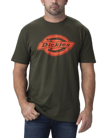 Dickies T-Shirt Graphique Coupe Relax à Manches Courtes WS46A - Vert