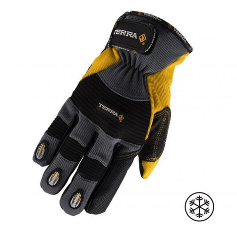 Terra Winter Performance Work Gloves - Yellow