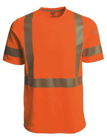 T-Shirt à Manche Courte Timberland Pro High-Visibility - Orange