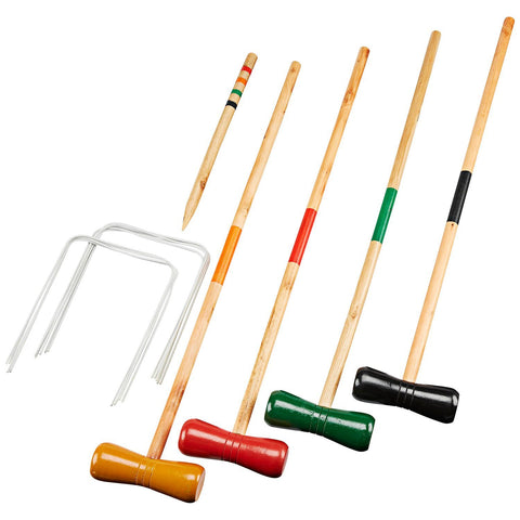 Beginner Croquet Set with Carrying Bag, 4-Player