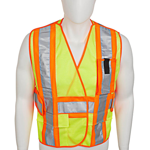 Amethya Safety Vest, High Visibility Protective