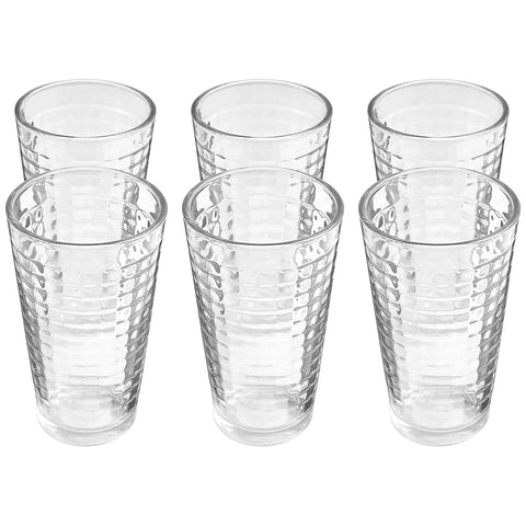 Drinking Glass Beverage - Pack of 6