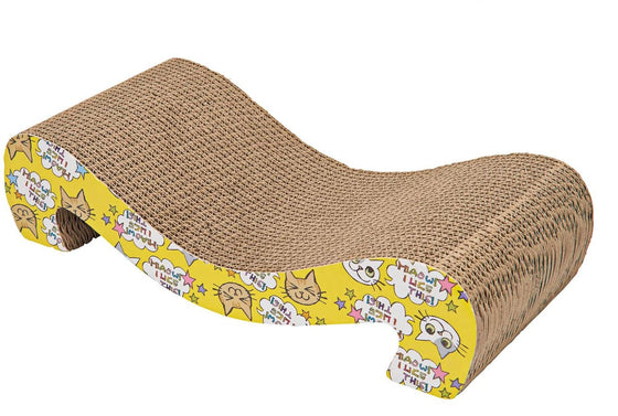 Animals Favorite Cat Scratcher Corrugated Cardboard Scratching Pad