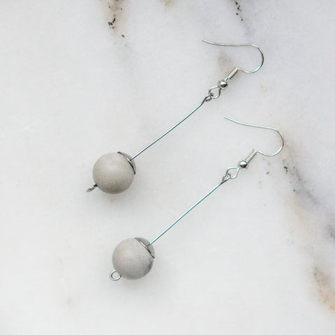 Concrete Earrings Hanover Designs