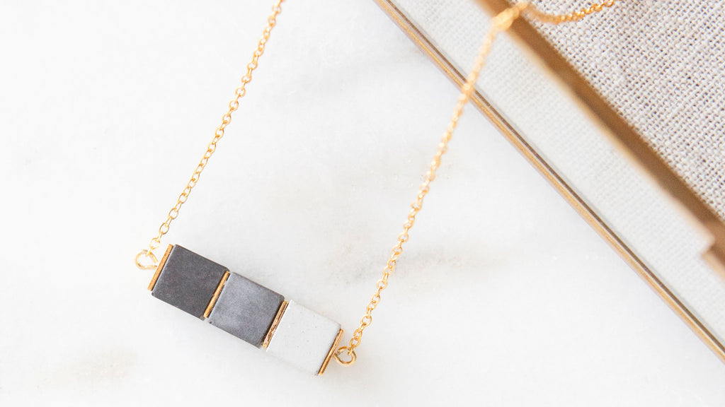 Hanover Designs Concrete Necklaces
