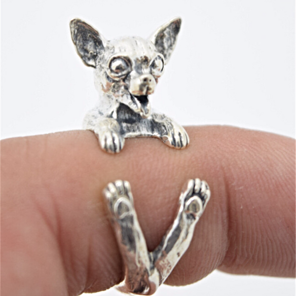 FREE Adjustable Chihuaha Ring