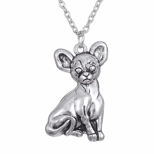Lovely Fashion Chihuahua Pendant Necklace