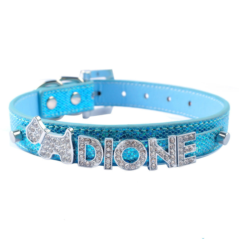 FREE Bling Personalized Chihuahua Collar