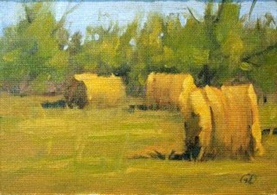 Paint with Sonia for Assembly Fundraiser - Hay Bales