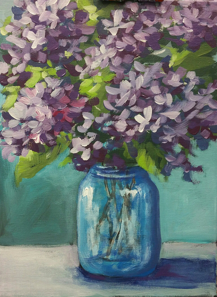 Lilacs in Jar