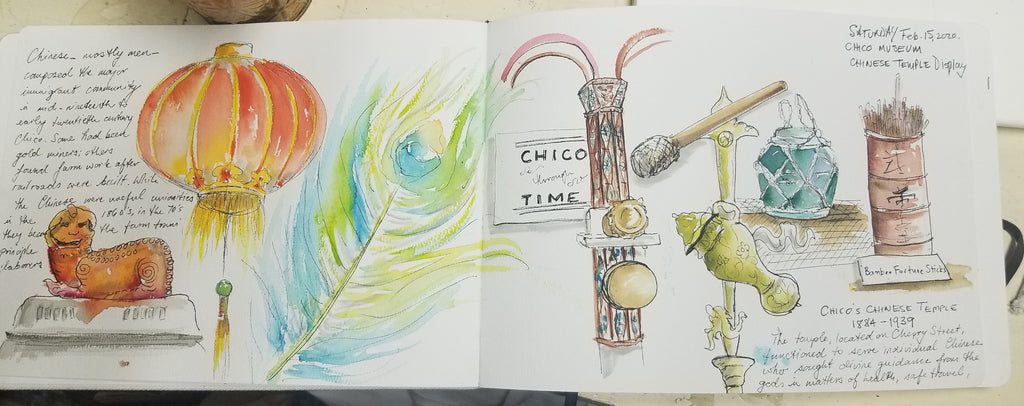 Essentials of Urban Sketch & Journaling - Montage vs. Panorama 9/18