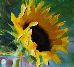 Palette Knife Sunflowers - Special $30