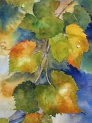Watercolor Leaves- Live-Stream