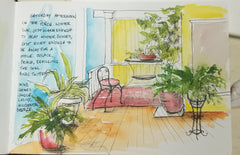 Essentials of Urban Sketch & Journaling - Line vs. Sketch vs. Contour Drawing 9/6