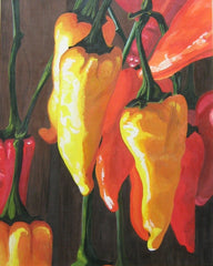 Acrylic Peppers Pt. 1 - Live-Stream