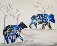 Bears Walking